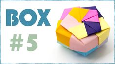 How to make paper box. Box for gift. #5
