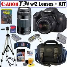 There's nothing like a canon !  Best Brand. One day I am going to get this bundle -