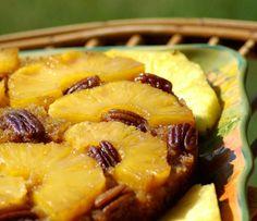 Перевернутый пирог с ананасом по-карибски