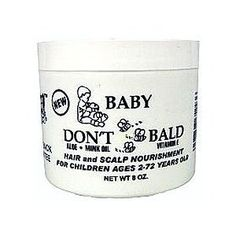 BABY DON'T BE BALD Hair and Scalp Nourishment 8 oz by Baby Don't Be Bald *** This is an Amazon Affiliate link. More info could be found at the image url.