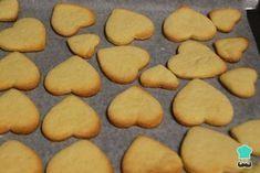 Cake Recipes Easy Homemade Vanilla - New ideas Easy Vanilla Cake Recipe, Homemade Vanilla, Easy Cake Recipes, Sweet Recipes, Cookie Recipes, Easy Homemade Cookies, Homemade Recipe, Cookie Factory, Buttery Cookies