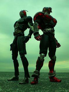 Kamen Riders RX & Agito