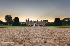 Blicking Hall, Norfolk, Weddings Blicking Hall shot with the lovely couple just as sunset dropped, simple no flash, lay on the floor style image, we love it.