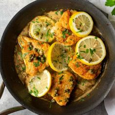 This Chicken piccata is a simple recipe, but it's full of rich-bodied flavors from its fresh ingredients. Capers, lemon juice, chicken breasts, white wine, parsley, and butter all add their own distinct touch to this dinner classic. Chicken breasts are dredged in flour and pan-fried to a golden brown then doused in a bright and citrusy lemon sauce with capers in this chicken piccata recipe. Its a refreshing dinner staple full of flavorful ingredients you'll love!