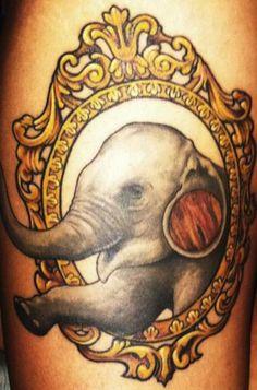 Brad Bellante at Block Monster Tattoo
