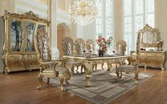 Luxury Home Furniture, Luxury Dining Room, Luxury Kitchens, New Set, Vintage Decor, Ceiling Lights, Chandelier, Interior, Color