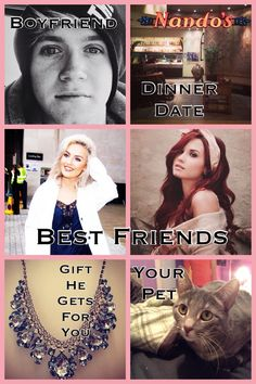 NIALLS PERFECT SO IS NADOS BUT BEST FIREND WOULD BE PERRIE ONLY AND THE LAST TWO WOULD BE OKAY BUT THEN AGINE CHANGE THE CAT TO DOG
