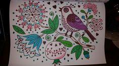 Kleurplaat vogel, kleurboek Action