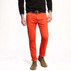 Sun-faded chino in 484 fit - sun-faded chinos - Men's pants - J.Crew