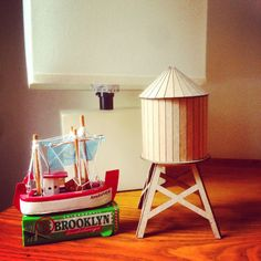 Boundless Brooklyn Model Water Tower Kit: The Micro