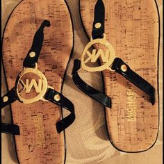 Michael Kors Sandals. Authentic Brand new. Never worn MK sandals Michael Kors Shoes Sandals