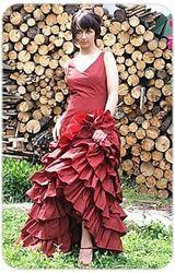 Red Wedding Dress from www.weddingdressfantasy.com