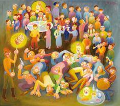 İbrahim Balaban'ın Eserleri ve Hayatı Digital Illustration, Artworks, Paintings, Artists, Paint, Painting Art, Painting, Painted Canvas, Drawings