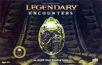 Legendary Encounters: An Alien Deck Building Game.  Build a deck of grunts, specialists, and memorable characters from Alien to repel the ever-advancing horde of aliens, and accomplish tasks that mimic the films' epic plots!