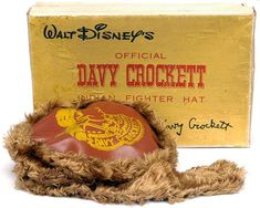 official davy crockett coonskin (indian fighter) hat