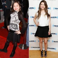 Miranda Cosgrove - Then: As a child, Miranda Cosgrove took on not only the big screen—with the much-adored School of Rock—but also the small screen, as the annoying younger sister in Drake & Josh.    Now: After her own Nickelodeon series, iCarly, came to an end, Miranda enrolled at the University of Southern California, where she's studying film.  (2014)