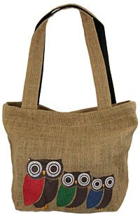 Three Owl Tote at The Autism Site