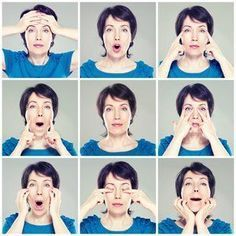 Yogas face-to-Bewegung-was – Für Frauen Yoga Facial, The Face, Face And Body, Face Yoga Exercises, Yoga Bewegungen, Face Health, Face Massage, Anti Aging Facial, Fitness