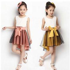 ver imagenes de vestidos para niñas muy lindas