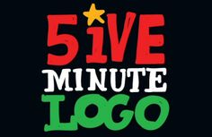 Step Right Up for Your 5ive Minute Logo | creativebits™