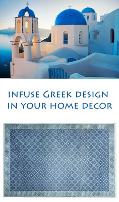 Be bold and beautiful by infusing Greek design in your home decor