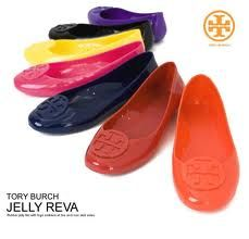 TB Jelly Shoes. Reminds me of jellies I had as a kid..I got to have a pair