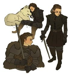 Clexa FanArt Collection — madebybon: Lexa Stark I like how everyone agrees...
