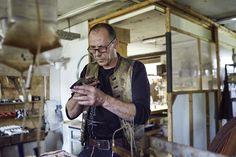 Fabricación de un cuchillo con Ulrich Hennicke Ants, Kitchen Knives, Ant