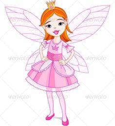 Fairy Princess  #GraphicRiver         Illustration of a cute little fairy. EPS 8, JPG (high resolution)     Created: 30July13 GraphicsFilesIncluded: JPGImage #VectorEPS Layered: No MinimumAdobeCSVersion: CS Tags: angel #art #artificial #cartoon #character #child #clip #clip-art #clipart #costume #crown #cute #fairy #fairytale #fantasy #girl #halloween #illustration #little #painting #period #pink #princess #vector #wing