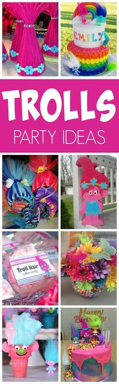 20 Terrific Trolls Party Ideas | Pretty My Party