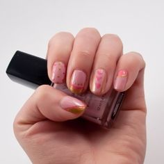 Get your nails ready for Valentines with this quick and easy tutorial