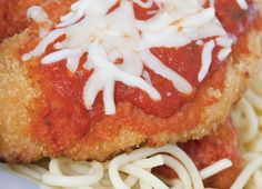 Chicken Parmesan with Marinara Sauce