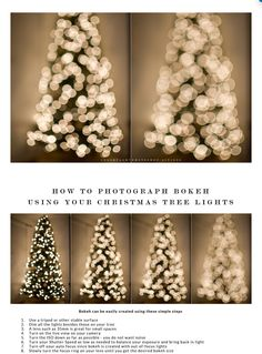 How to photograph a Christmas tree - light starbursts or dreamy bokeh - https://colorvaleactions.com/blogs/tips/how-to-photograph-a-christmas-tree