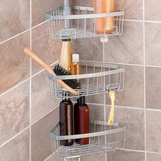 $50 - Tension Pole Shower Caddy