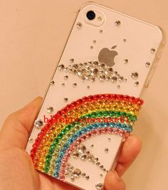 bling phone case unique but could be a cool DIY