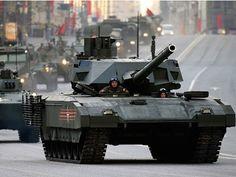 Super-tank T-14 Armata were revealed more secret