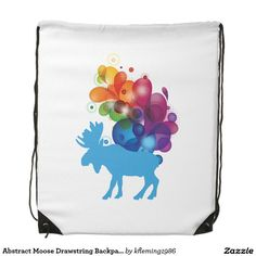 Carry the weight of the world in one of our Moose backpacks! Thousands of amazing designs mean thousands of amazing backpack options. Drawstring Backpack, Moose, Backpacks, Abstract, Bags, Design, Handbags, Summary, Elk