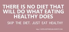 "Just eat healthy.nothing out of a box or bag is real ""health food"". Think fresh: fruits, veggies, meats, eggs, etc. Isagenix, Fitness Tips, Fitness Motivation, Extreme Fitness, Fitness Fun, Fitness Quotes, Health And Wellness, Health Fitness, Workout Guide"