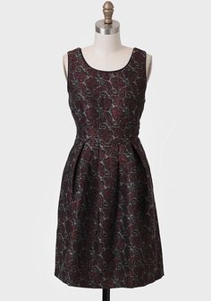 Inspired Soul Paisley Brocade Dress at #Ruche @Ruche