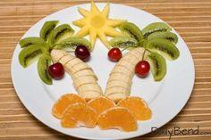 Fun Tropical Fruit Salad | DailyBend.com