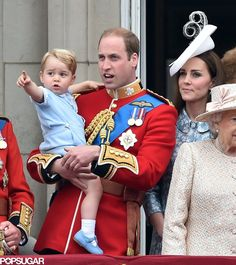 Trooping The Colour 2015 - Prince George Has the Time of His Life on the Royal Family's Big Day
