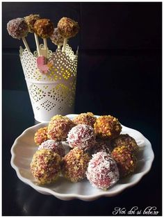 Bomboane raw cu vişine - Flavia Hiriscau Coco, Healthy Recipes, Healthy Food, Cereal, French Toast, Appetizers, Breakfast, Baby Room, Sweet