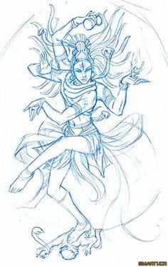 Shiva in the form of Nataraja