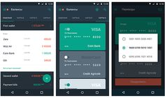Payment service mobile app on App Design Served
