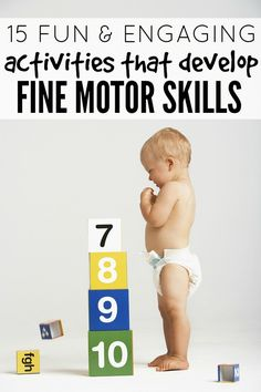 15 fun  engaging activities that develop fine motor skills