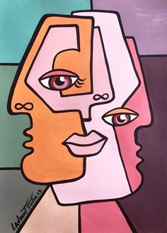 What is Your Painting Style? How do you find your own painting style? What is your painting style? Picasso Art, Picasso Paintings, Picasso Style, Small Canvas Art, Diy Canvas Art, Art Painting Tools, Cubist Art, Abstract Face Art, Hippie Painting