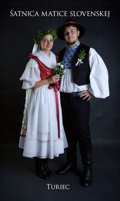 Kostýmy a kroje – Matica slovenská Folk Costume, Costumes, Heart Of Europe, Traditional Dresses, Culture, Slovenia, Party, Clothes, Folk Clothing