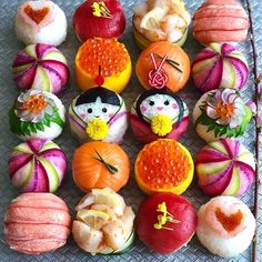 sushi for Hina Matsuri [ Japanese Diet, Japanese Sushi, Temari Sushi, Cooking Sushi, Bento Box Lunch For Kids, Sushi Style, Low Carb Burger, Food Artists, Homemade Sushi