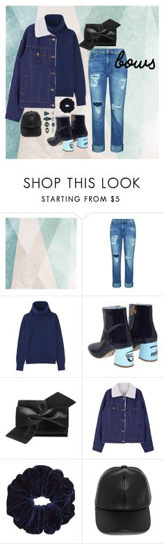 """Untitled #56"" by chocolatequeen18 ❤ liked on Polyvore featuring Sandberg Furniture, 7 For All Mankind, Uniqlo, Chiara Ferragni, Victoria Beckham, LULUS and New Look"