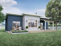 Truoba Mini 118 - Truoba House Plans